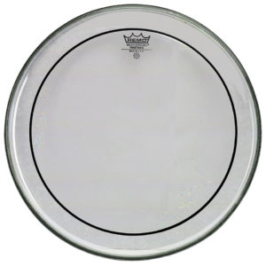 REMO PELLE PS-1318-00 18″ PINSTRIPE CLEAR BASS